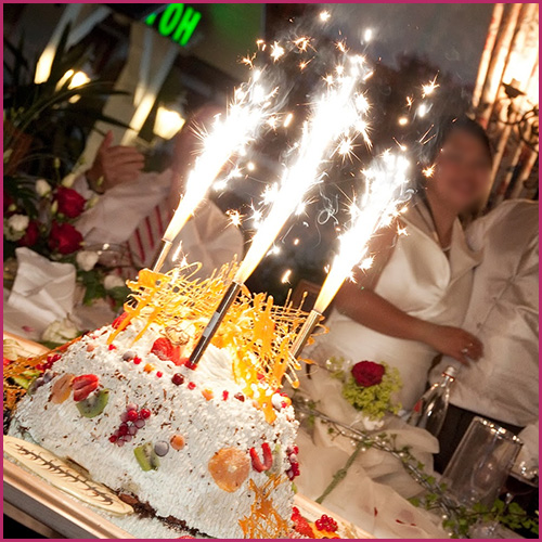 Pin Sparklers And Big Birthday Cake Photo Cakejpg Cake On