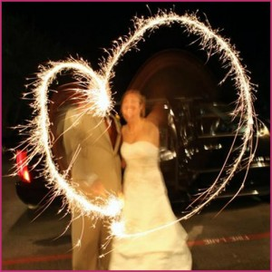 Wedding Sparklers 1