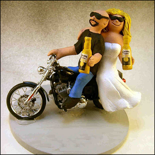 Motorcycle Wedding Cake Topper Thefind | 2016 Car Release Date