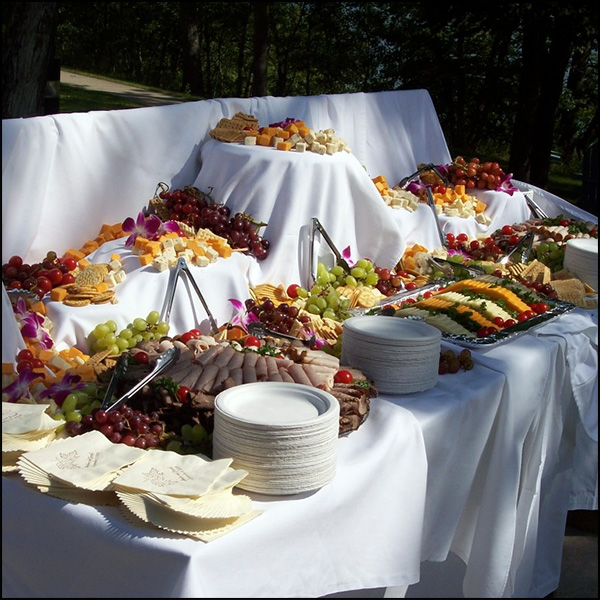 Wedding Reception Food Table Ideas