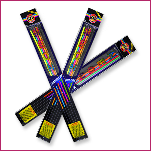 Neon Color Sparklers image