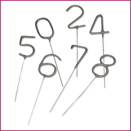 Number Shaped Sparklers image