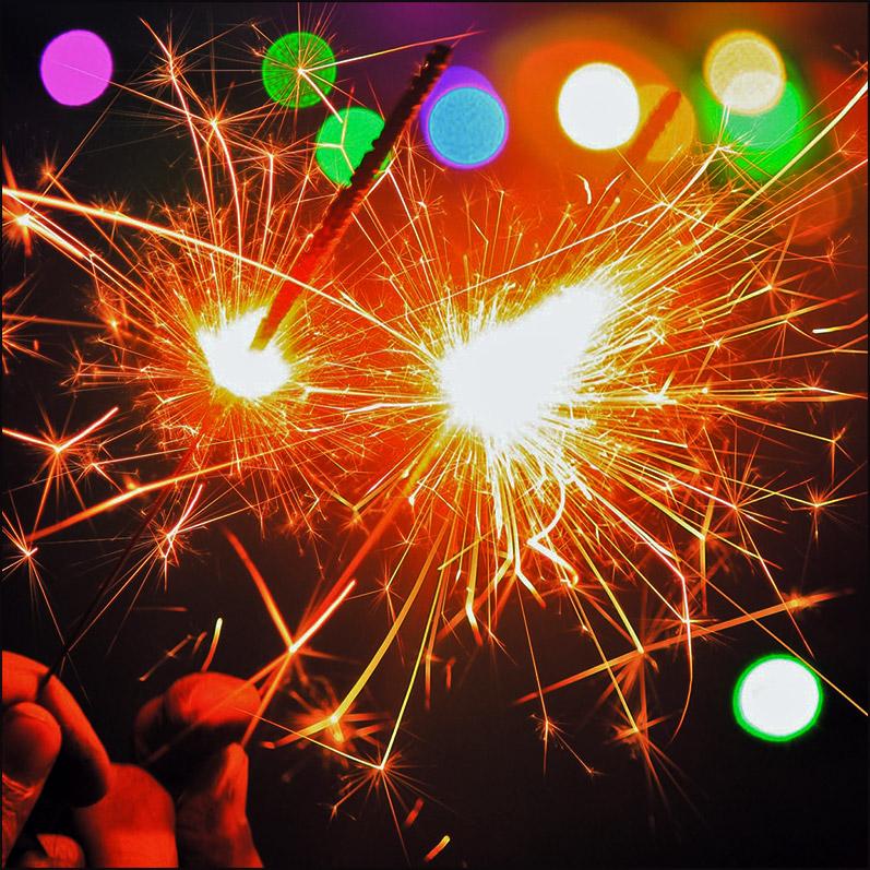 Color Sparklers image